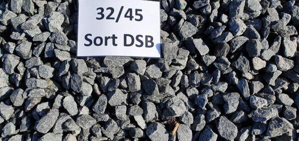 DSB skærver sort 32/45 mm