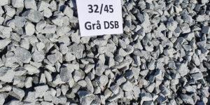 DSB skærver grå 32/35 1500 kg